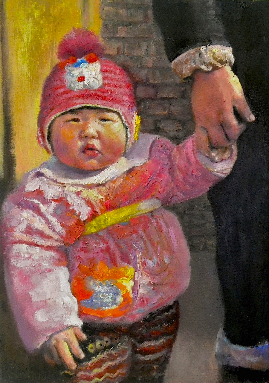 Chinese_Baby_From_Woyang_Village